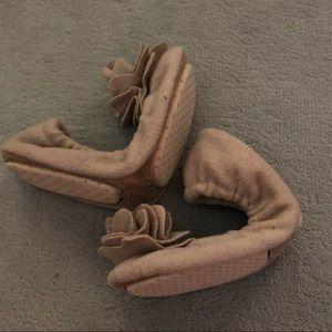 Travel ballet slip on shoes